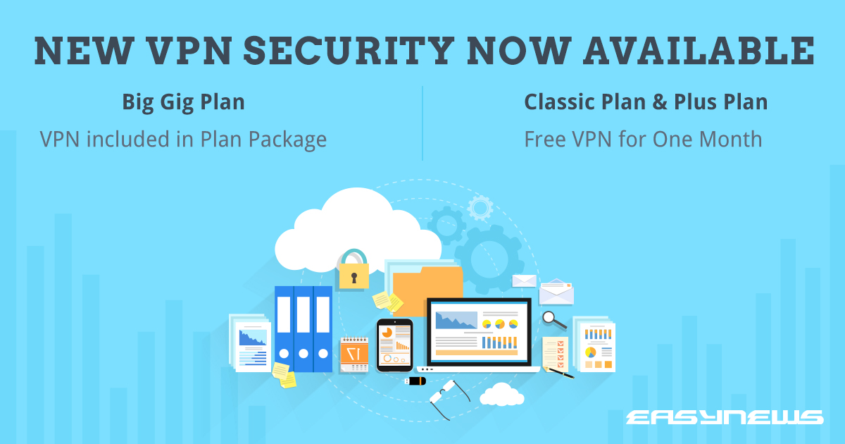 Easynews Adds VPN Security